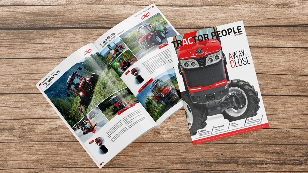 Antonio Carraro Tractor People magazine